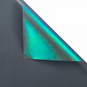 Пленка с жемчужным переливом 60*5 м черный/сине-зеленый