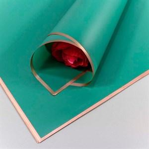 Пленка с золотой каймой 58*58см 20 листов тифанни