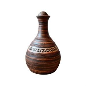 Бутылка гончарная 1,4л Ангоб Триполье
