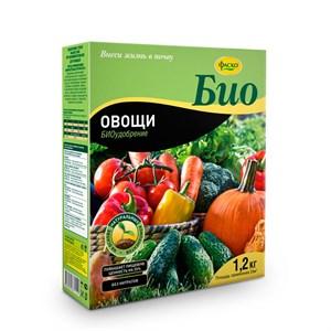 Удобрение БИО Овощи 1,2кг гранулы