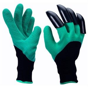 Перчатки Листок с когтями полиэстр с латекс.покр