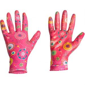 Перчатки Листок нейлон с нитр.покр M