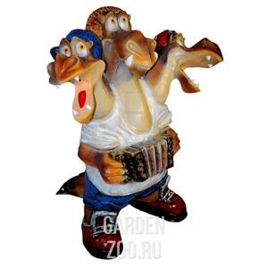 Фигура Змей Горыныч с гармошкой