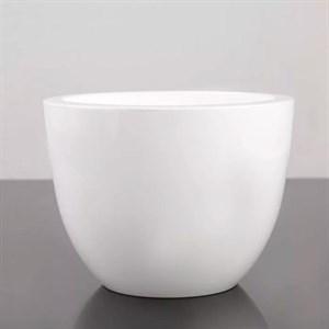 Горшок Орион 6л белый с вкладышем