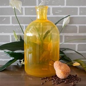 Ваза бутылка 1141 оранж-радуга