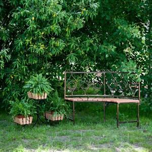 Диван секционный садовый 891-92
