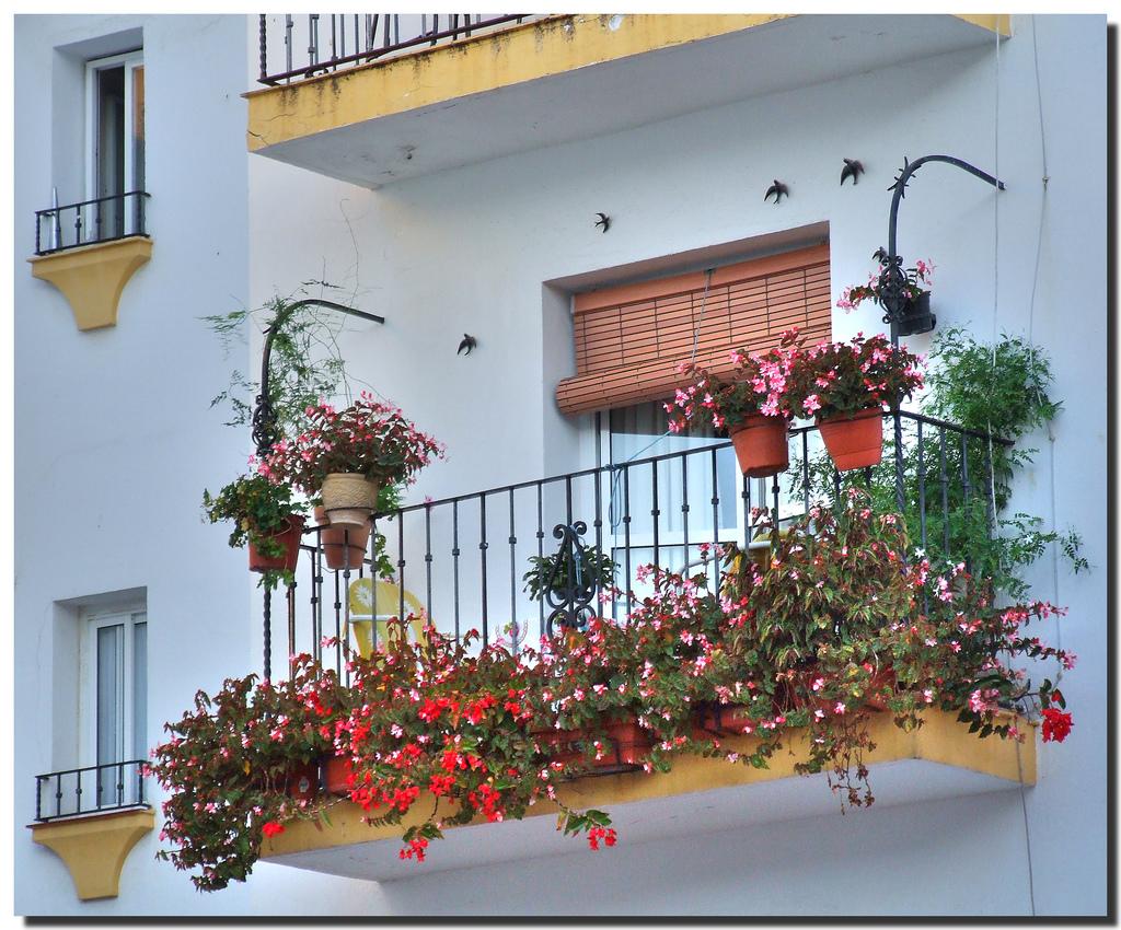 Открытые балконы своими руками